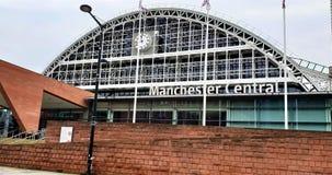Stazione ferroviaria centrale Manchester di Manchester fotografia stock