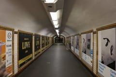 Stazione ferroviaria del francese Parigi Immagine Stock