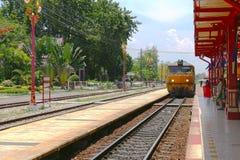 Stazione ferroviaria del Hua Hin Immagine Stock Libera da Diritti