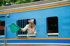 Stazione ferroviaria del Hua Lamphong Immagine Stock Libera da Diritti