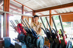 Stazione ferroviaria del Hua Lamphong Fotografia Stock