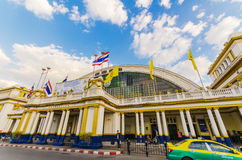 Stazione ferroviaria del Hua Lamphong fotografie stock libere da diritti