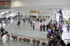 Stazione ferroviaria del nord di Zhuhai immagine stock libera da diritti
