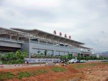 Stazione ferroviaria del nord di Zhuhai fotografie stock