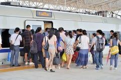 Stazione ferroviaria del nord di Zhuhai Immagini Stock Libere da Diritti