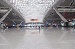 Stazione ferroviaria del sud di Guangzhou Fotografie Stock Libere da Diritti