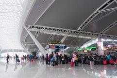 Stazione ferroviaria del sud di Guangzhou Immagine Stock Libera da Diritti