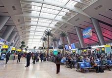 Stazione ferroviaria del sud di Pechino Fotografie Stock