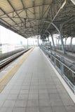 Stazione ferroviaria del treno ad alta velocità Fotografia Stock