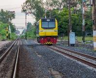 Stazione ferroviaria del treno di Khonkaen Fotografia Stock Libera da Diritti