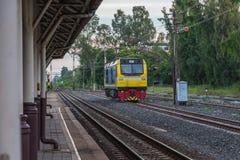 Stazione ferroviaria del treno di Khonkaen Fotografie Stock Libere da Diritti