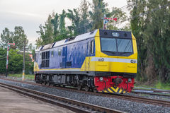 Stazione ferroviaria del treno di Khonkaen Immagini Stock Libere da Diritti