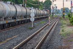 Stazione ferroviaria del treno di Khonkaen Fotografia Stock