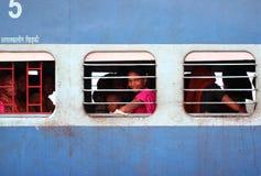 Stazione ferroviaria dell'India Immagini Stock