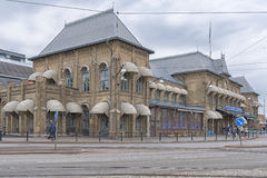 Stazione ferroviaria della centrale di Gothenburg Fotografia Stock Libera da Diritti