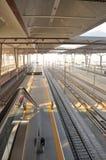 Stazione ferroviaria della Cina Immagine Stock Libera da Diritti