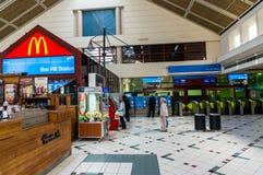 Stazione ferroviaria della collina della scatola a Melbourne, Australia Fotografie Stock