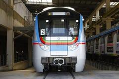 Stazione ferroviaria della metropolitana Immagine Stock
