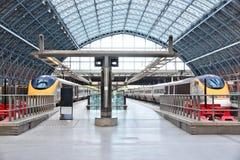 Stazione ferroviaria della st Pancras Immagine Stock Libera da Diritti