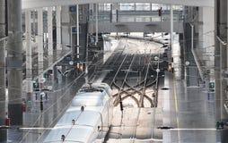 Stazione ferroviaria di Atocha - Madrid Immagini Stock Libere da Diritti