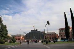 Stazione ferroviaria di Atocha a Madrid, Spagna Fotografie Stock Libere da Diritti