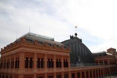 Stazione ferroviaria di Atocha a Madrid, Spagna Fotografie Stock