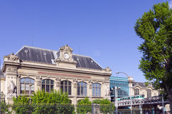 Stazione ferroviaria di Austerlitz a Parigi Fotografie Stock
