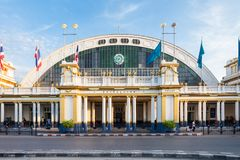 Stazione ferroviaria di Bangkok immagini stock