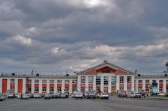 Stazione ferroviaria di Barnaul La Russia Immagine Stock