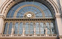 Stazione ferroviaria di Budapest Immagini Stock