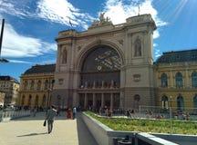 Stazione ferroviaria di Budapest Fotografia Stock Libera da Diritti
