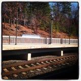 Stazione ferroviaria di BWI Fotografia Stock