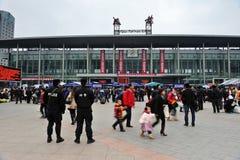 Stazione ferroviaria di Chengdu Immagine Stock Libera da Diritti