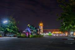 Stazione ferroviaria di Chiangmai Fotografie Stock
