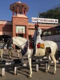 Stazione ferroviaria di Chittorgarh Fotografie Stock Libere da Diritti