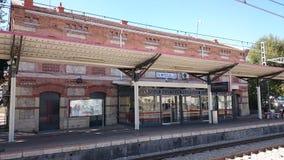 Stazione ferroviaria di Ciempozuelos Fotografia Stock Libera da Diritti