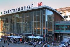 Stazione ferroviaria di Colonia fotografia stock libera da diritti