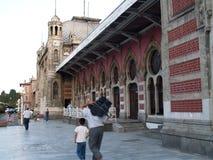 Stazione ferroviaria di Costantinopoli Fotografie Stock