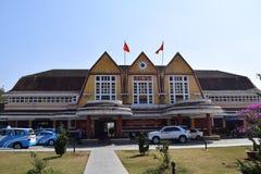 Stazione ferroviaria di Dalat Fotografia Stock Libera da Diritti