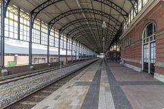 Stazione ferroviaria di Den Haag HS fotografia stock