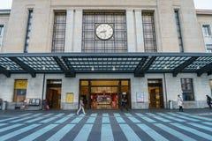 Stazione ferroviaria di Ginevra-Cornavin Fotografia Stock