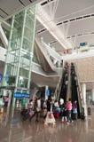 Stazione ferroviaria di Guangzhou nan Fotografie Stock