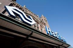 Stazione ferroviaria di Haarlem Immagini Stock Libere da Diritti