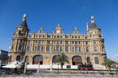 Stazione ferroviaria di Haydarpasa Fotografia Stock Libera da Diritti