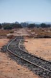 Stazione ferroviaria di Hejaz vicino ad Al-Ula Fotografia Stock Libera da Diritti