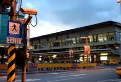 Stazione ferroviaria di Kaohsiung Fotografie Stock Libere da Diritti