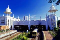Stazione ferroviaria di Kuala Lumpur Immagini Stock Libere da Diritti