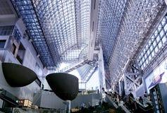 Stazione ferroviaria di Kyoto Fotografie Stock