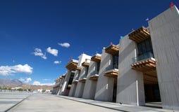 Stazione ferroviaria di Lhasa Fotografia Stock Libera da Diritti