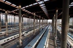 Stazione ferroviaria di Madrid Atocha Fotografie Stock Libere da Diritti